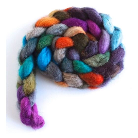 Wheel of Fortune - BFL Wool Spining Roving-3