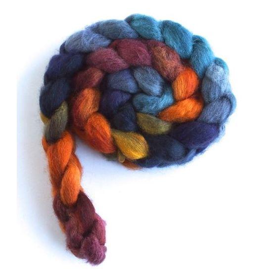 Rotation - BFL Wool Spining Roving-3